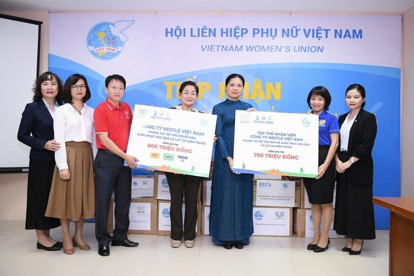 nestle vietnam joins efforts to aid flood hit central vietnam