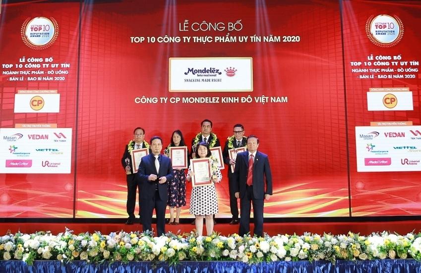 Mondelez Kinh Do listed among Top 10 most reputable foods companies 2020