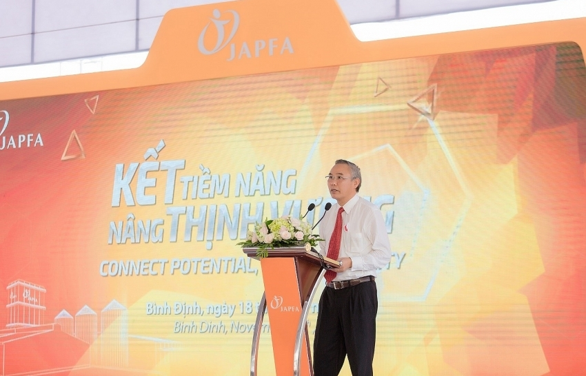 japfa comfeed vietnam inaugurates sixth animal feedmill in binh dinh