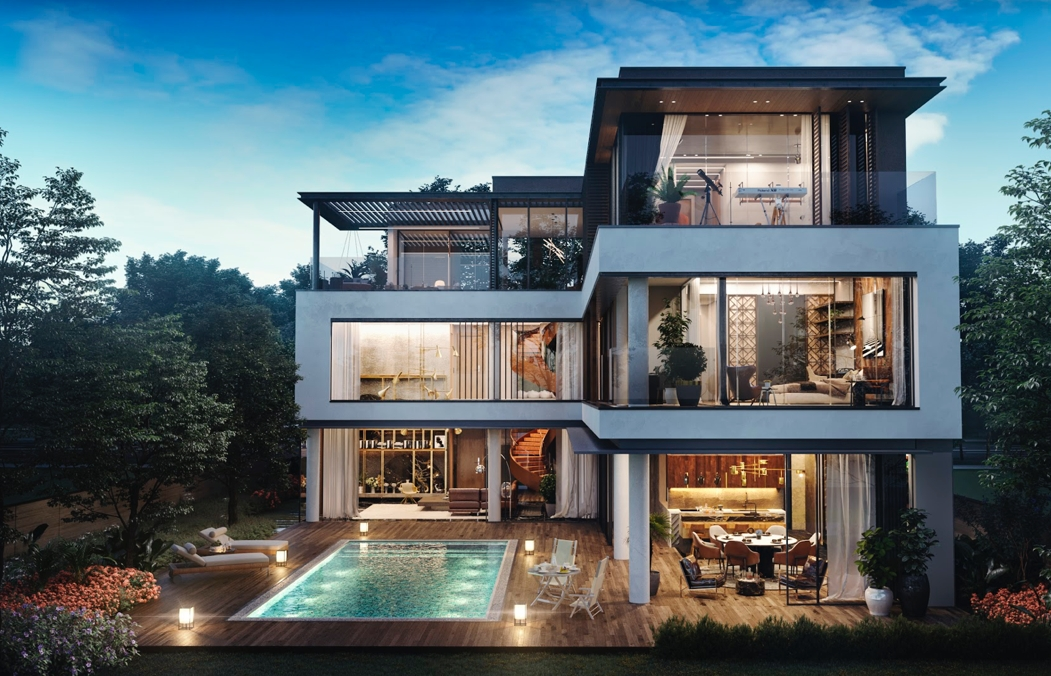 Clubhouse – a privileged world for elite residents at The Icon