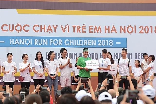 Manulife Vietnam eagerly joins Hanoi Run for Children