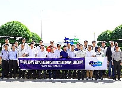 Doosan Vina's Suppliers Association comes into being