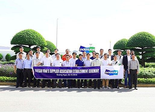 doosan vinas suppliers association comes into being
