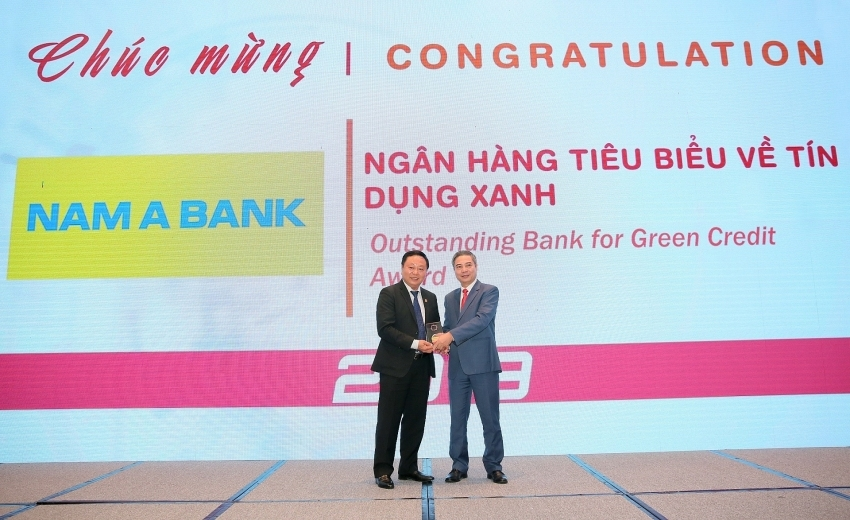 Nam A Bank champions Outstanding Bank for Green Credit Award 2019