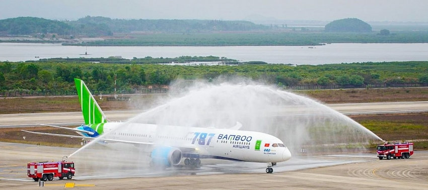 bamboo airways becomes vietnams first private airline to operate a wide body aircraft