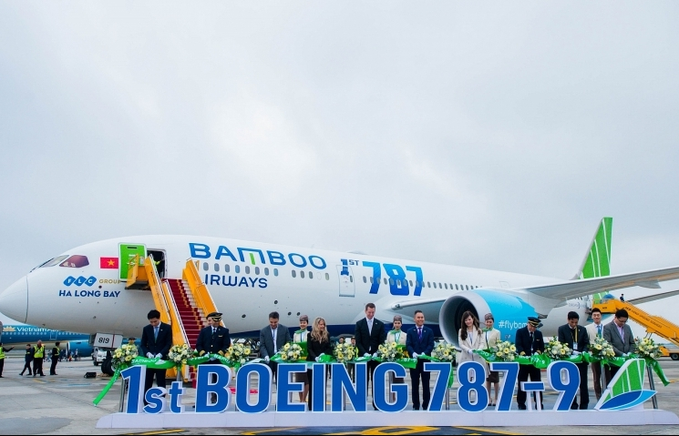 Bamboo Airways becomes Vietnam's first private airline to operate a wide-body aircraft