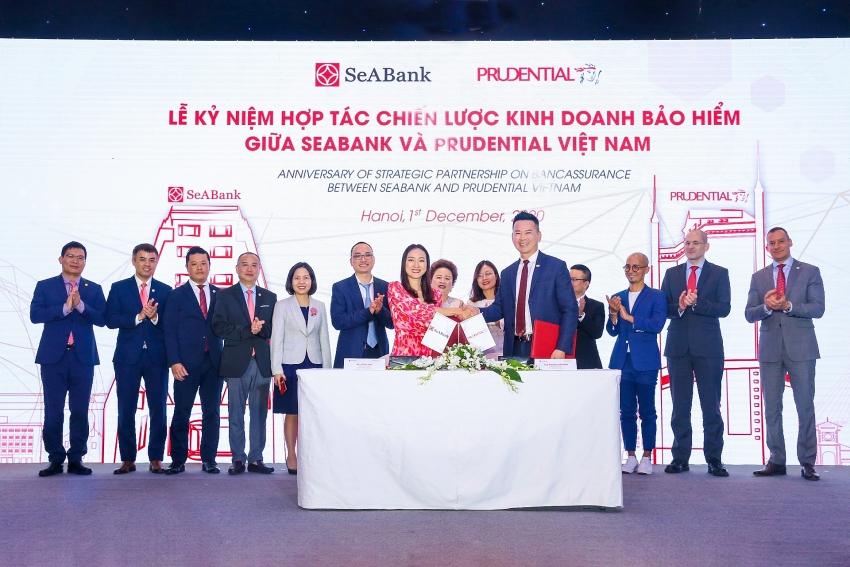 prudential vietnam and seabank strengthen strategic partnership