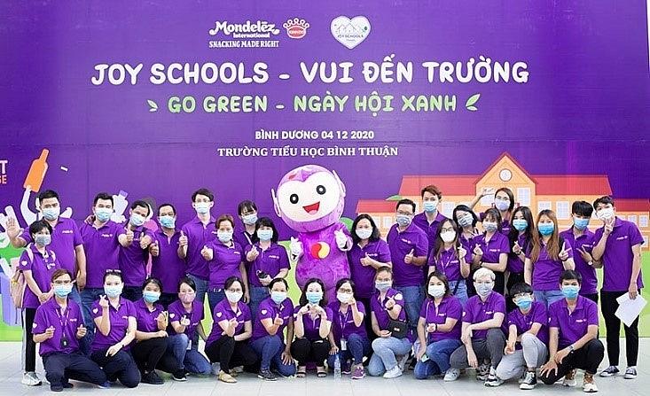 Mondelez Kinh Do inspires students to Go Green