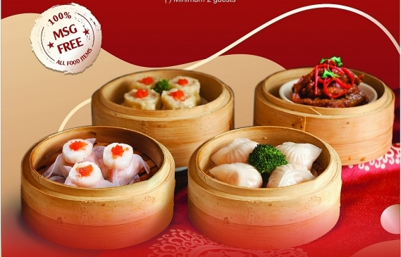 All-You-Can-Eat à la carte Dim Sum at Shang Palace