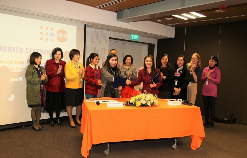 UNFPA hands over medical equipment and supplies to Vietnam's Ministry of Health