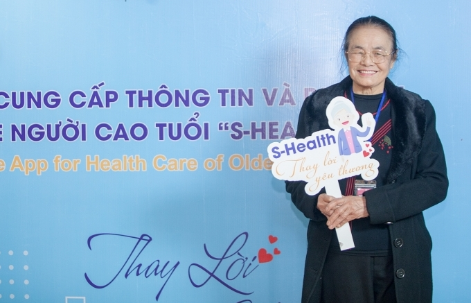 S-Health mobile app launched to improve healthcare for Vietnamese elderly