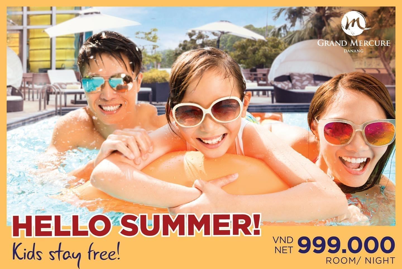 """Hello Summer"" package at Grand Mercure Danang"