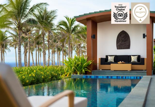 movenpick resort cam ranh wins tripadvisor travellers choice award 2021
