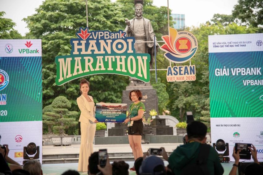 vpbank hanoi marathon asean 2020 a globally connected race