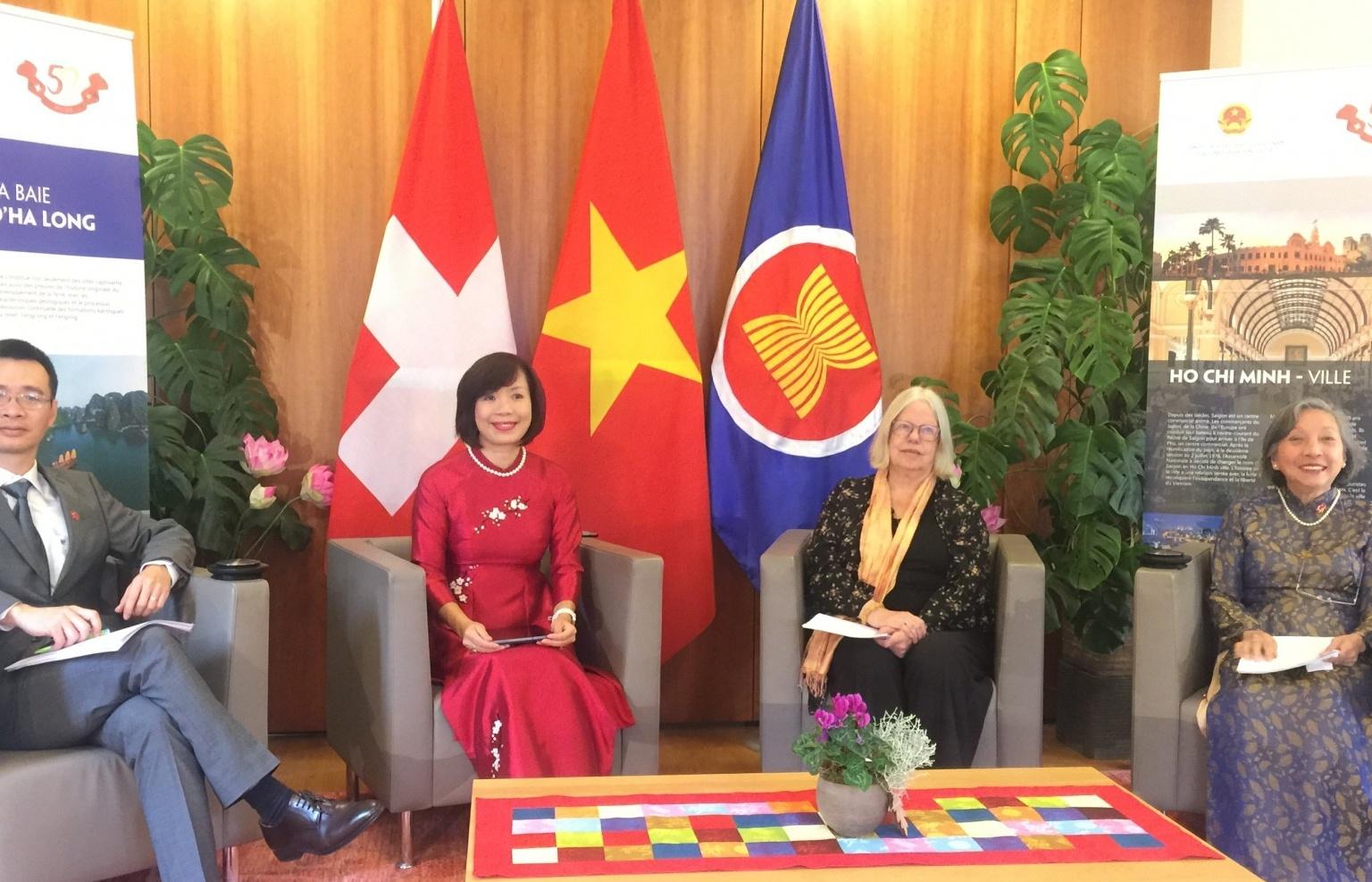 """""""Vietnam days in Switzerland 2021"""" promote Vietnam's identity to Switzerland and Europe"""