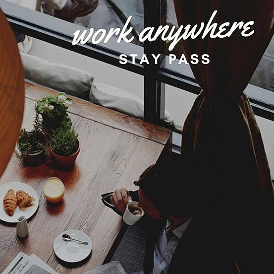 work anywhere stay pass at le meridien saigon