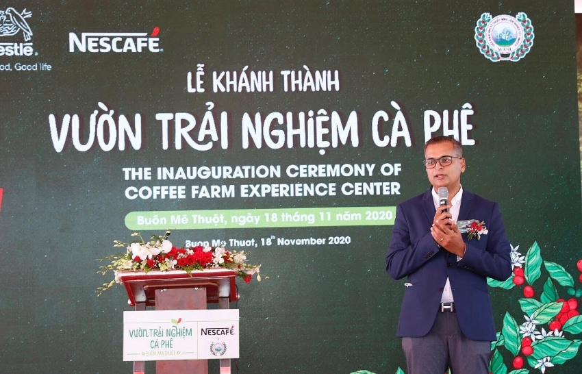 Opening of NESCAFÉ WASI Coffee Farm Experience Center in Central Highlands