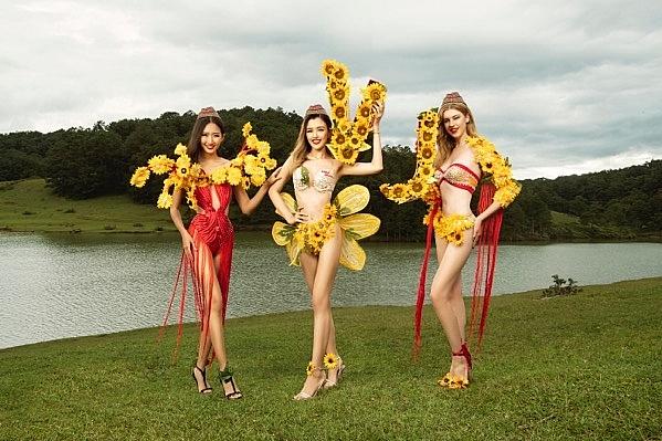 vietjets bikini calendar blooms new year 2019
