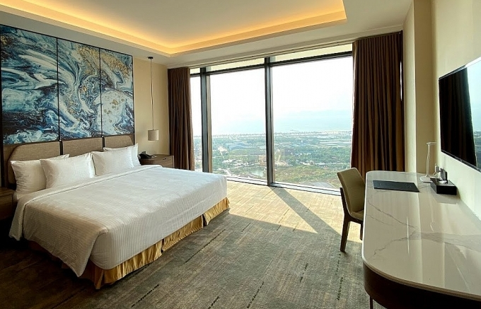 Muong Thanh Luxury Halong Centre hotel and apartment complex opens doors to guests