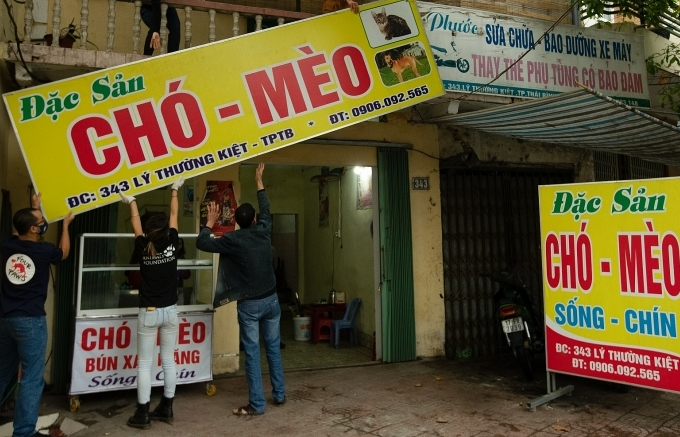 Four Paws closes cat meat restaurant and slaughterhouse in Vietnam