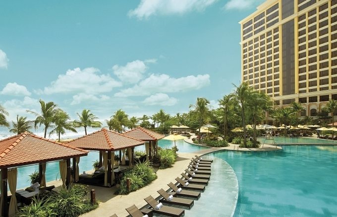 Enjoy festive foods and beverages at The Grand Ho Tram Resort & Casino