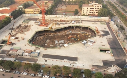 Lotte makes up ground on new complex
