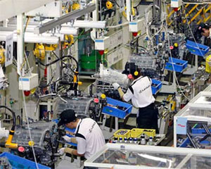 Industrial production index sees positive signs