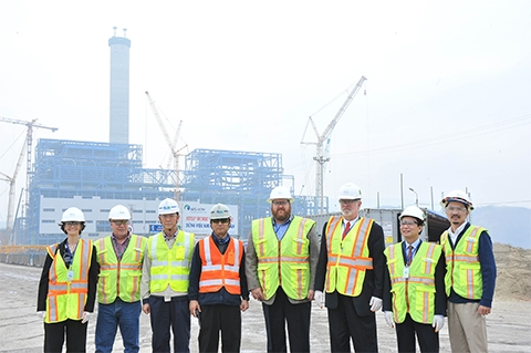 Quang Ninh electricity project meets milestone