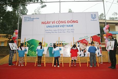 Unilever working to benefit Vietnamese society
