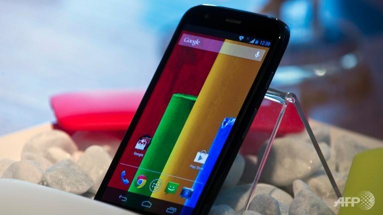 Google to sell Motorola unit to Lenovo for US$2.91b