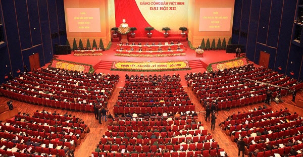 12th national party congress for vietnams solidarity democracy and continued reform
