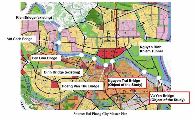 Hải Phòng plans 4 big transport projects