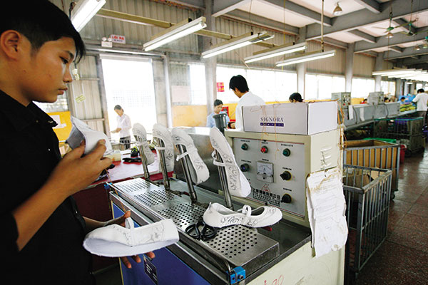 Footwear sector awaits rebound with US giant