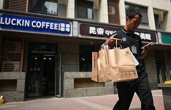 Coffee startup Luckin set to overtake Starbucks in China