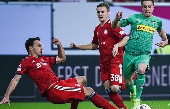 Bayern squeeze past Gladbach on penalties in Bundesliga warm-up