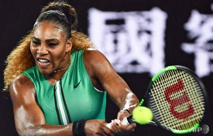 serena in charge as djokovic races past tsonga at australian open