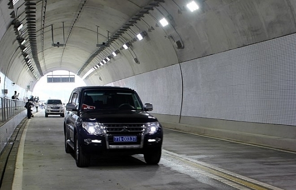 cu mong tunnel opened to traffic