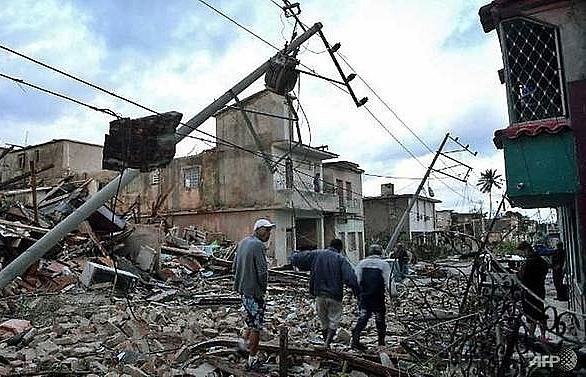 Three dead, 172 injured in Cuba tornado