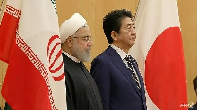 japans abe to visit middle east amid tensions