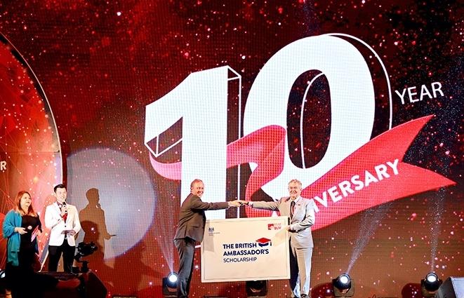 British University Vietnam celebrates 10-year anniversary