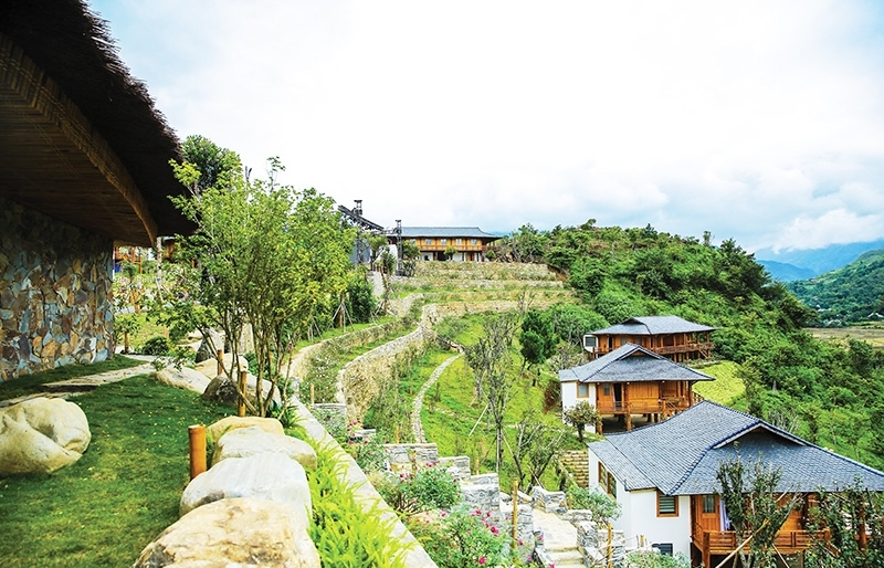 High-end delights at stunning Tu Le valley resort
