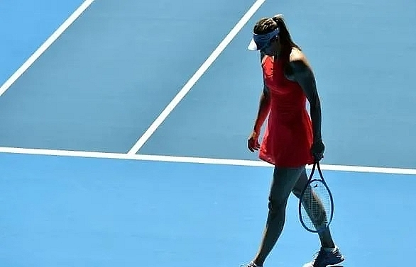 nadal in the pink as sharapova hits all time low at australian open