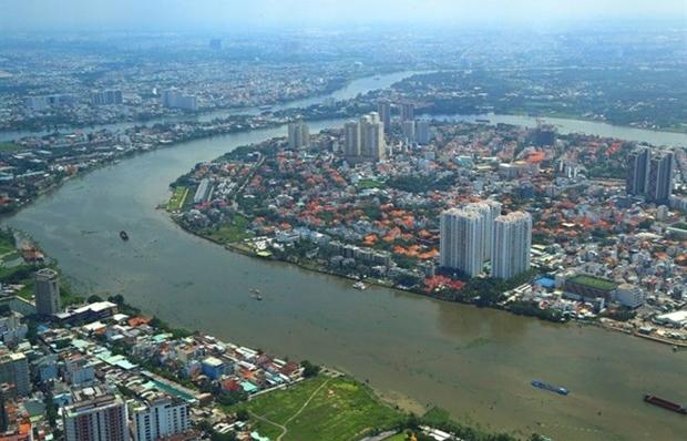 HCM City plans public spaces along Saigon River