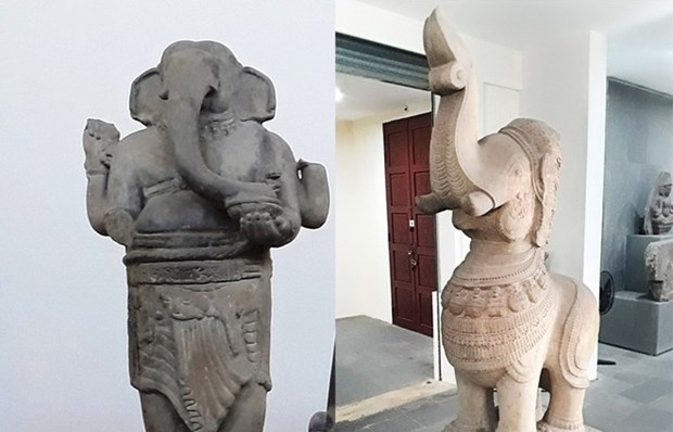 Two sculptures in Da Nang named as national treasures