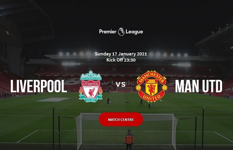 Man United face title test in Liverpool showdown