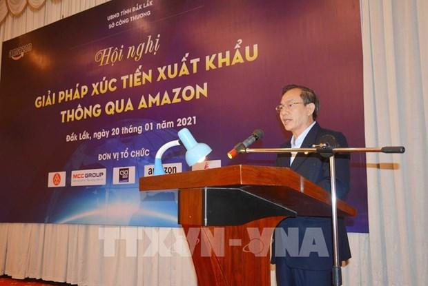 dak lak promotes shipments via amazon