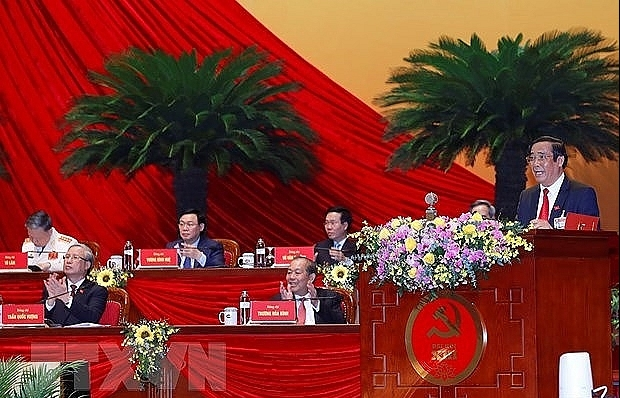 Results of election of 13th-tenure Party Central Committee announced