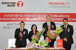 Prudential Vietnam and Maritime Bank launch insurance partnership project