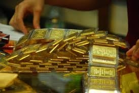 The gold market in black and white
