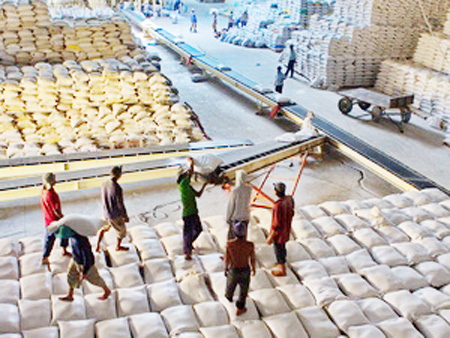 Rice, seafood exports in Mekong Delta face tough market this year
